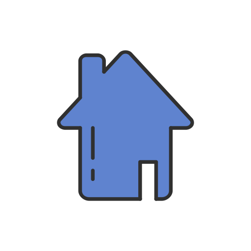 Home Page, Home, House, Facebook Icon