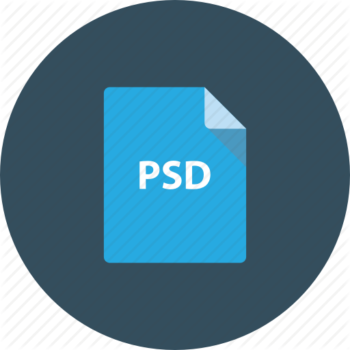 Document, Download, Extension, File, Photoshop, Icon
