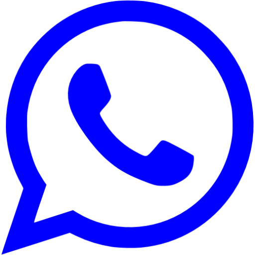 Blue Whatsapp Icon