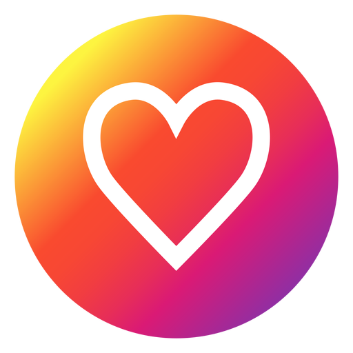 Instagram Heart Icon Transparent Png Clipart Free Download