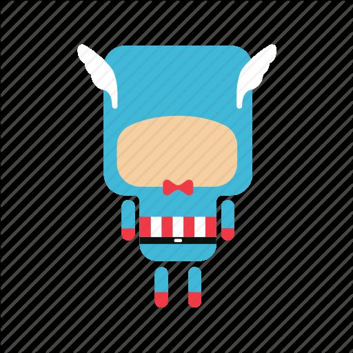 Cute, Hero, Mini Icon