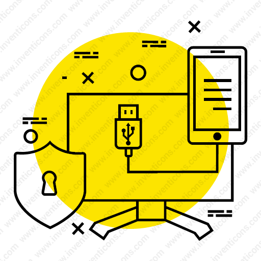 Download Connecting,secure,data,mobile,computer,connection Icon