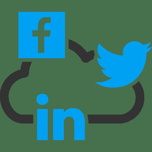 Facebook Twitter Linkedns Vertical
