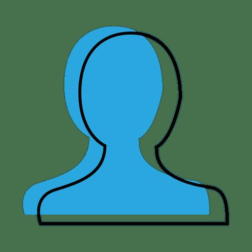 User Profile Blue Icon