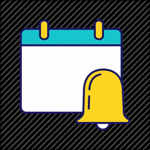 Alarm, Alert, Bell, Notification, Reminder, Schedule, Timetable Icon