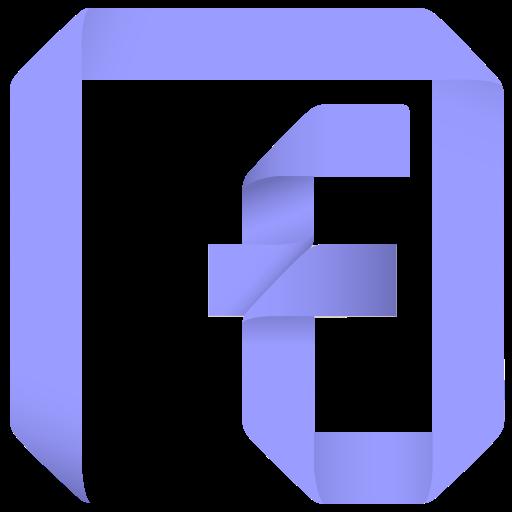 Channel, F, Facebook, Fan, Fan Page, Follow, Origami, Page, Paper