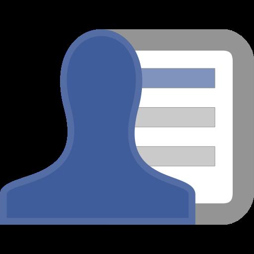 Facebook, List Icon