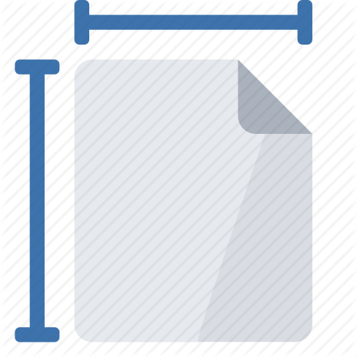 Page, Size Icon