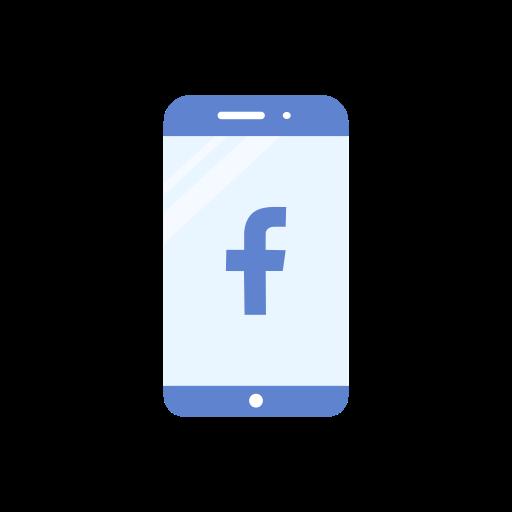 Phone, Logo, Iphone, Facebook Logo Icon