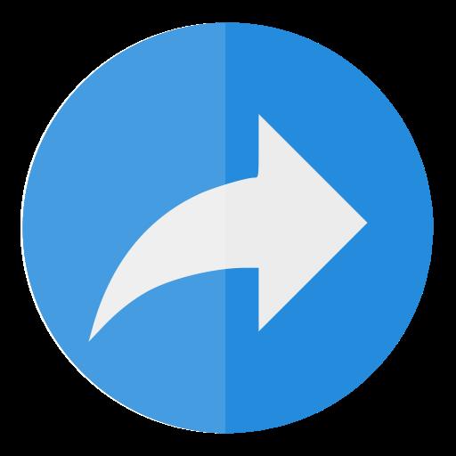 Circle, Share Icon