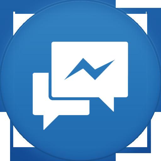 Facebook Messenger Icon Circle Icons