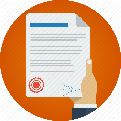 Business, Contract, Hand, Marketing, Paper, Signature Icon