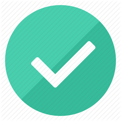 Approved, Check, Checkmark, Done, Good, Ok, Verified Icon