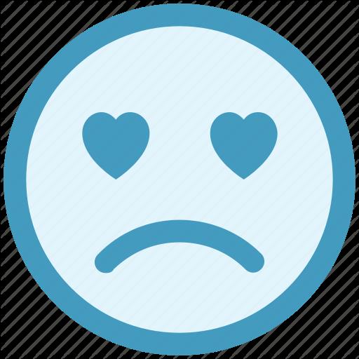Adoring, Baffled Emoticon, Crying, Face Expression, Love Beat, Sad