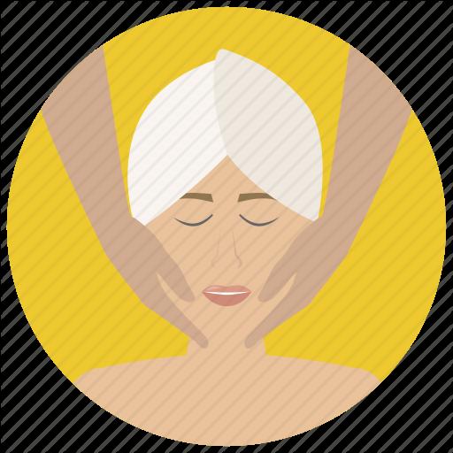 Beauty, Face Massage, Facial, Massage, Spa, Treatment, Wellness Icon