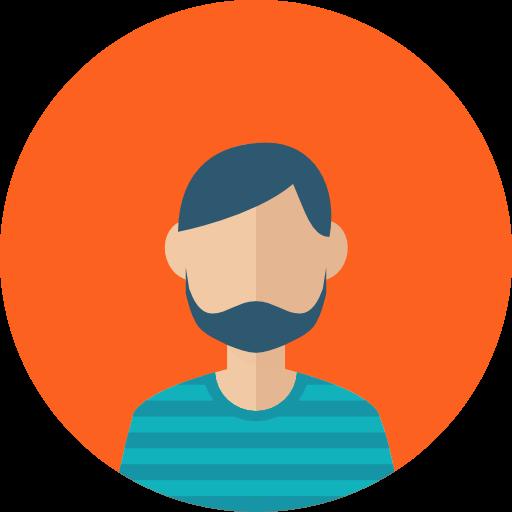 Facial Hair, Profile, Beard, People, User, Man, Business, Avatar Icon