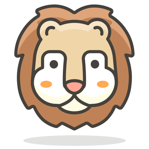 Lion, Face Icon Free Of Free Vector Emoji