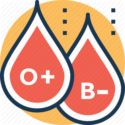 Antigen, Blood, Blood Group, Rh Factor, Rh Type Icon