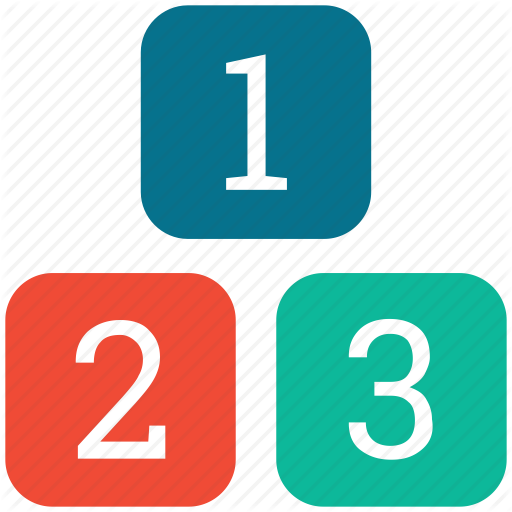 Digits, Digits Numbers, Ranking Factor Icon