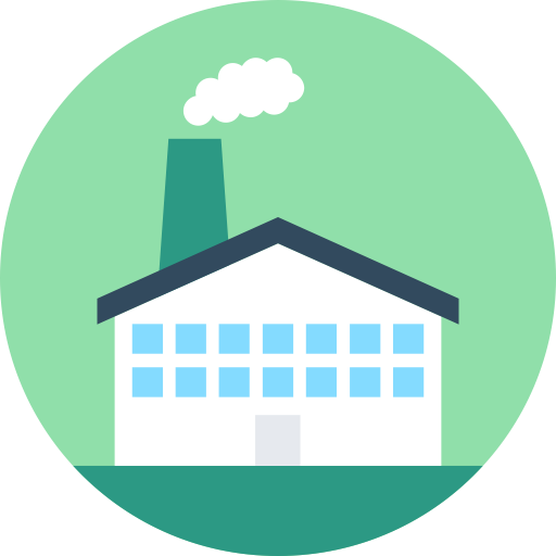 Factories And Factories Icons, Download Free Png And Vector