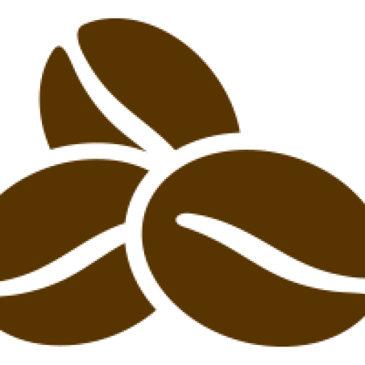 Cropped Coffee Bean Icon Arista The Barista Organic