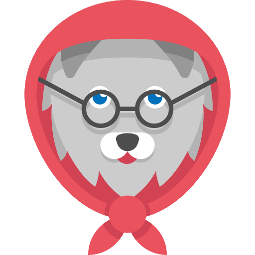 Grandmother, Character, Avatar, Wolf, Animals, Folklore, Fairy