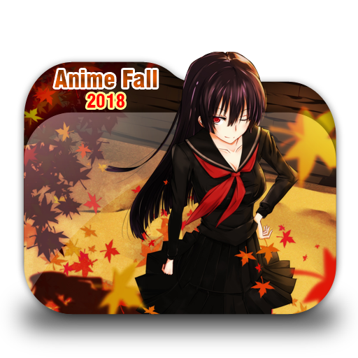 Anime Fall Folder Icon