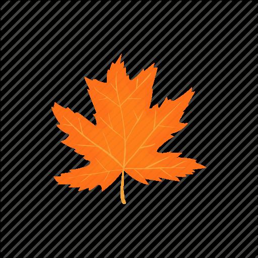 Autumn, Cartoon, Fall, Leaf, Maple, Nature, Season Icon