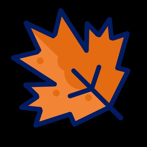 Fall, Leaf, Orange, Season Icon Free Of Icontober