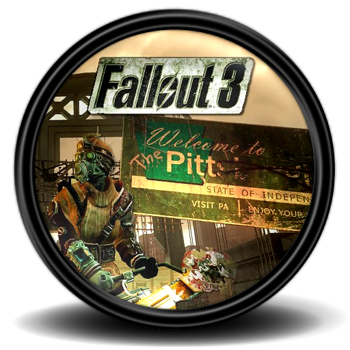 Fallout The Pitt Icon Mega Games Pack Iconset Exhumed