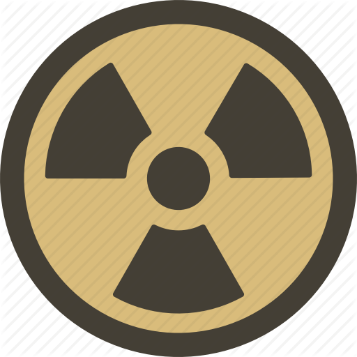 Attention, Danger, Fallout, Hazard, Radioactive, Warning Icon