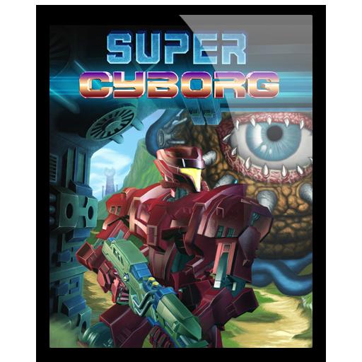 Super Cyborg Icon