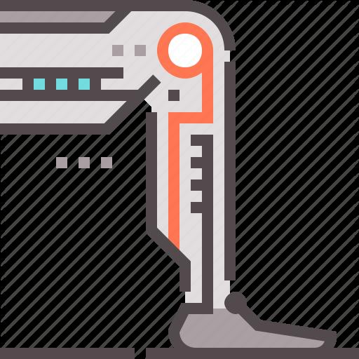 Cyber, Leg, Prothesis Icon
