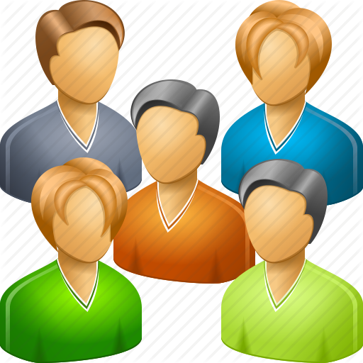 Large Group Of People Icon Images