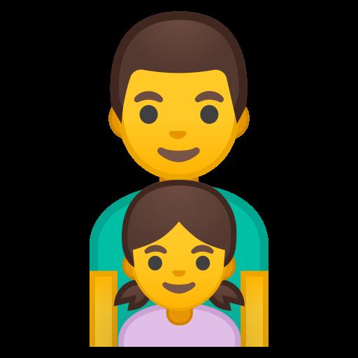 Family Man Girl Icon Noto Emoji People Family Love Iconset