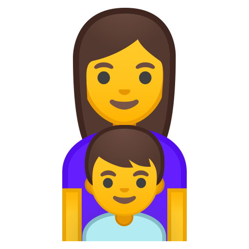 Family Woman Boy Icon Noto Emoji People Family Love Iconset