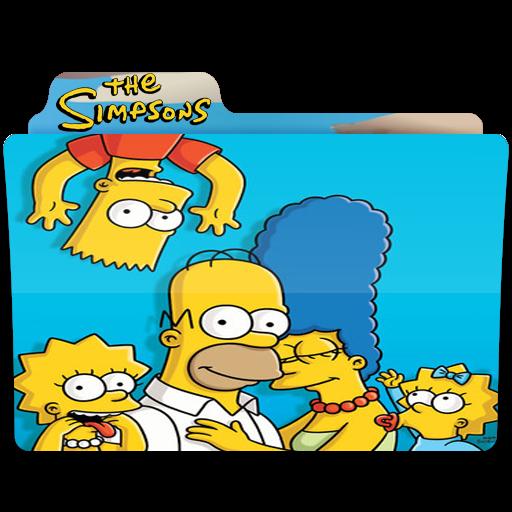 The Simpsons, Folder, Folders, Family Icon Free Of Simpsons Folder
