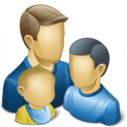 Iconexperience V Collection Users Family Icon