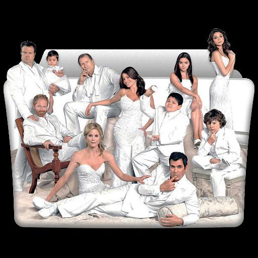 Modern Family Icon Tv Series Folder Pack Iconset