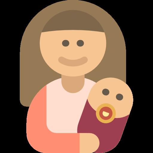 Mother, Baby, Kid And Baby, People, Woman, Motherhood, Family Icon