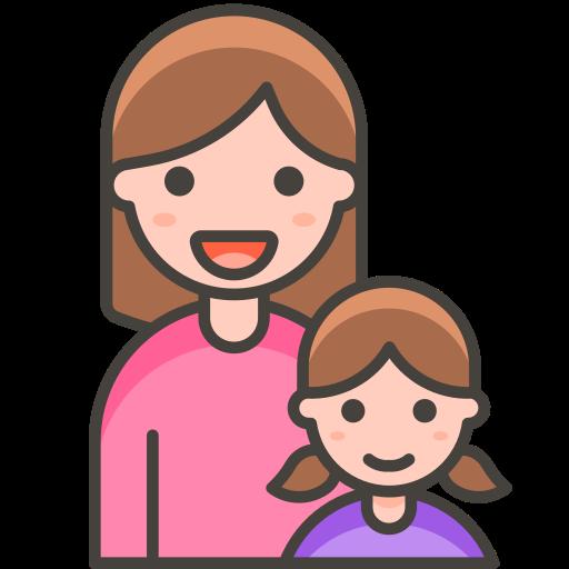 Family, Woman, Girl Icon Free Of Free Vector Emoji