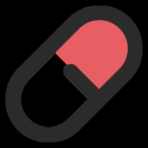 Medical Pill Colored Stroke Icon