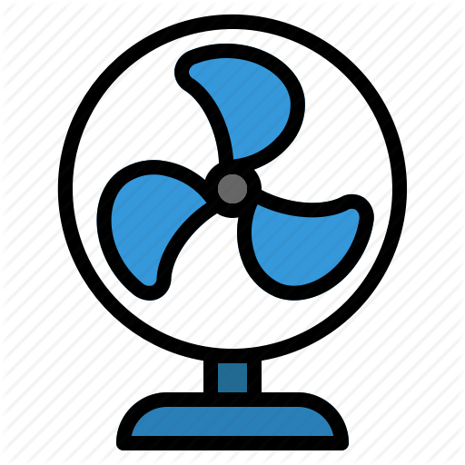 Cool, Cooler, Electric, Fan, Summer, Table, Ventilation Icon