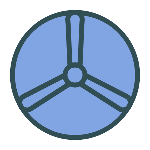 Fan, Disk, Brand, Shape Icon Free Of Brands Colored Icons