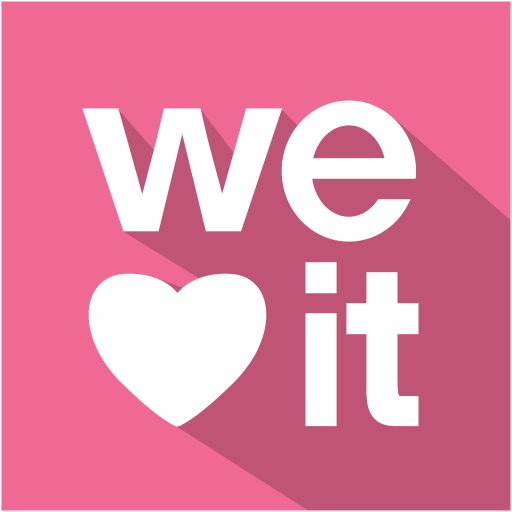 Weheartit Icon Flat Shadow Social Iconset S Icons
