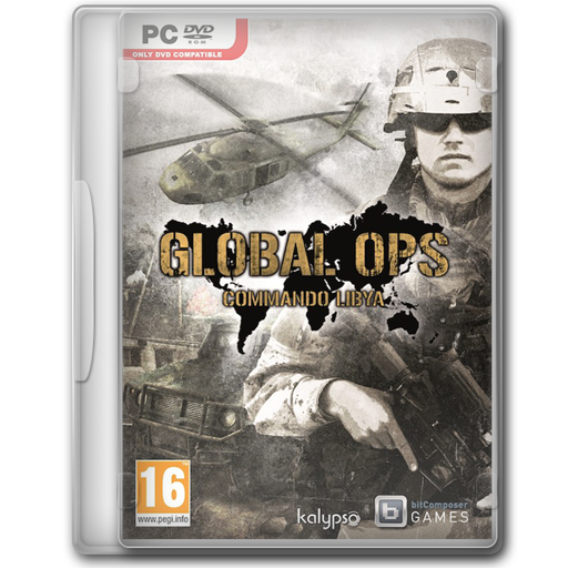 Global Ops Commando Libya Icon Game Cover Iconset Jeno Cyber