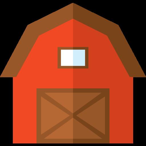 Barn, Buildings, Gardening, Real Estate, Farm Icon