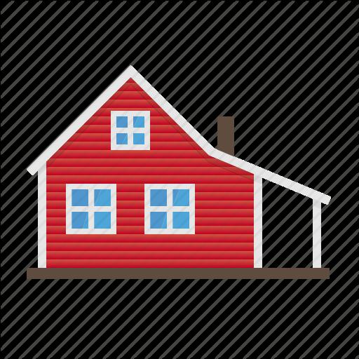 Architecture, Building, Farm, Farmhouse, Home, House, Wooden Icon