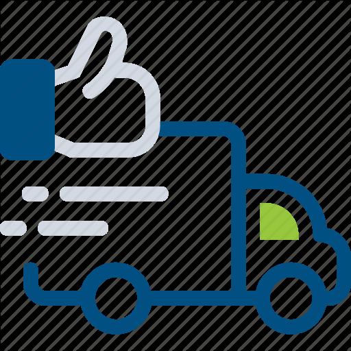 Dilivery, Dilivery Done, Dilivery Done Icon Fast Delivery, Hand