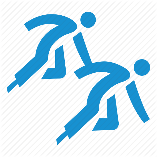 Fast, Group, Race, Short, Skating, Speed, Track Icon